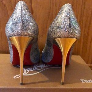 Christian Louboutin Shoes - Authentic Christian Louboutin Glitter heels